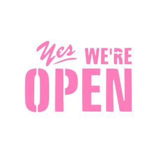 We gaan weer open